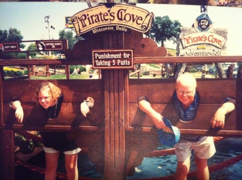 Me and my Dad, Wisconsin Dells, 1991?